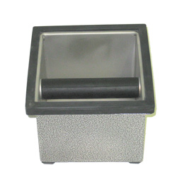 Knock Box 6 x 5.5 x 4 w/holder (25610)